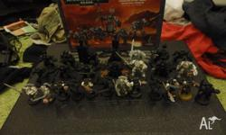 Up for regretful sale is my Grey Knight army, All are