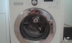 Samsung washing machine 7.5kg 3 months old, front