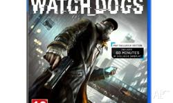 Selling my copy of Watch Dogs for the PS4. Game is as