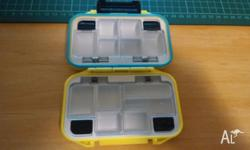 Waterproof Fishing Tackle Box with12 Individual