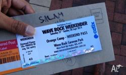 Hi folks, I'm selling one ticket of wave rock music