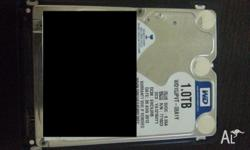 Up for sale is a WD 1TB 2.5 inch 9.5mm high + USB 3.0