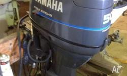 We have a good 1997 50hp 4 Stroke Yamaha Outboard For