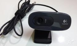 Logitech HD Webcam C270 Fluid HD 720p video calling 3MP