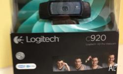 LOGITECH C920 As new One month warranty Pick up only