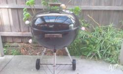 Weber BBQ in good condition Comes with chacol holder