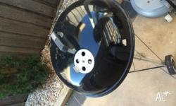 Weber Coal BBQ for $50 or nearest offer. Barely used.