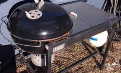 Free - a Weber Kettle Gas BBQ, used to work, havent