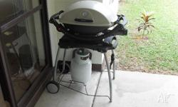 Medium sized Weber Q. Only just over 12 months old,