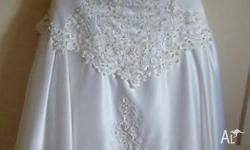 Classic Style Wedding Dress. This dress has only been