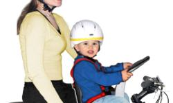 Weeride bike carrier , allows your child to sit in