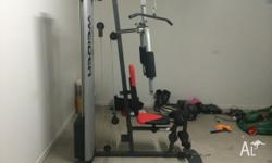 I bought this home gym brand new off someone 3 months