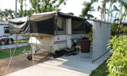 Our much beloved 1990 Jayco Swan is reluctantly for