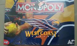 Brand new, unopened. 2007 AFL West Coast Eagles Charity