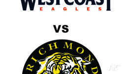 4 x West Coast Eagles vs Richmond Tigers Tickets for