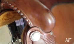 I For Sale I have a SanDeranto Western Saddle for sale