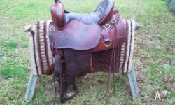 Tucker High Planes Western saddle, excellent condition,