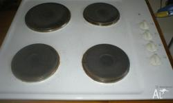 Westinghouse Cooktop in working order . Comes with all