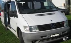 Make: Mercedes-Benz Model: Vito Mileage: 93,400 Kms
