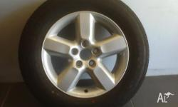 WHEELS & TYRES TOYOTA RAV4 MY06 SERIES 2 16INCH GENUINE