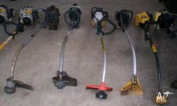 Collection of whipper snippers.Sold as is but some may
