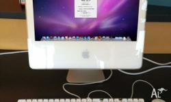 "WHITE APPLE IMAC - 17"" ALL IN ONE - INTEL CORE 2 DUO -"
