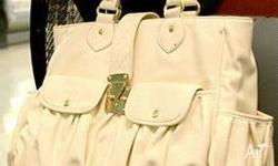 White ladies handbag selling for a great price. Brand