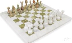 This classic chess set design has long been a standard
