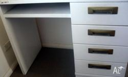 in reasonably good condition, the desk has had little