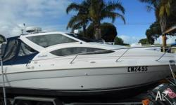 This Whittley 2600 is a great mid-sized cabin cruiser.