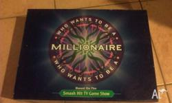 Who wants to be a millionaire (1st and last picture