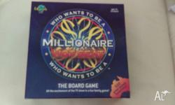 Who Wants to be a Millionaire Hot Seat Board Game. As