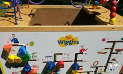 A great gift for Wiggles fan!! Has few marks but does