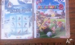 Wii games Winter sports 2008 Mario Party 8 Pick up