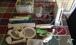 i have for sale a wii machine with accessories and