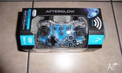 wii u wireless afterglow pro controller brand new