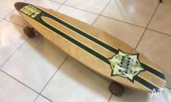 Up for sale is a barely USED William Cody's LongBoard