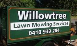 - Lawn mowing. Demestic and commercial - Whipper