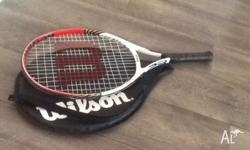 Wilson 'Roger Federer' 23 tennis racket, suits age 7-8