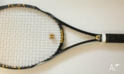 Up for sale is Wilson K-Factor Blade 98 Tennis Racquet