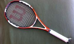 For sale is a WILSON nTour two tennis racquet. Great