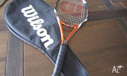 I used this racquet for about 2 months once a week, and