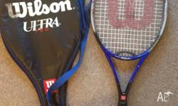 Wilson ultra pro tennis racquet. Very good condition.