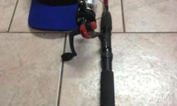 Win a Water and Wheels cap and fishing rod combo. Send