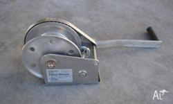 Winch - Stainless Steel - Hand Winch - Second Hand,