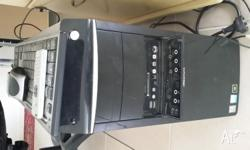 Desktop PC for sale running windows XP, fully working