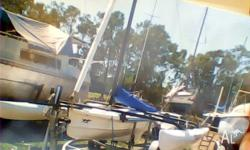 WINDRIDER 16 TRIMARAN AND TRAILER for Sale in BRAY PARK