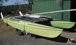 Popular Windrush 14 surfcat in great condition all
