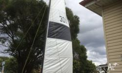 14 ft Cat for sale with some spare rigging & spare
