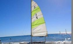 12ft Windrush Surfcat with registered trailer and